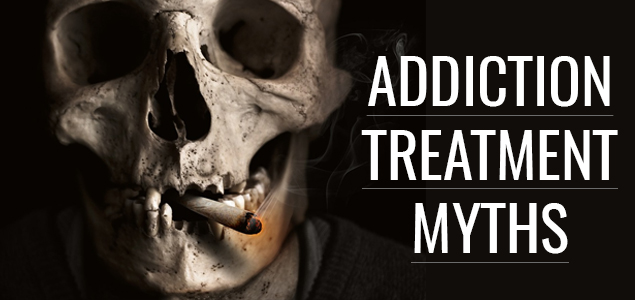 Addiction treatment myths