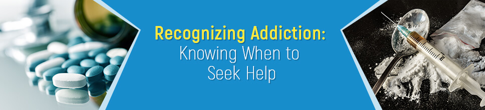How to recognize addiction