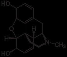 Morphine formula
