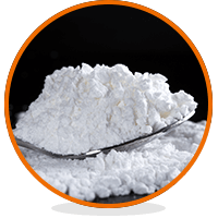 White and brown heroin powders