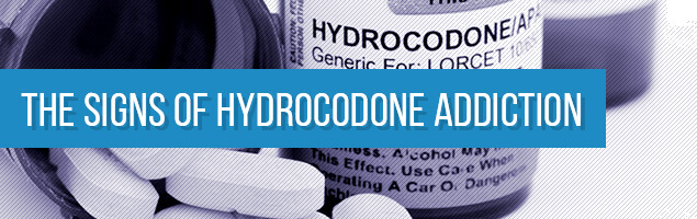 The Signs of Hydrocodone Addiction