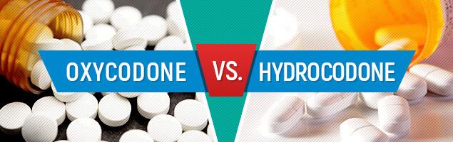 Oxycodone vs. Hydrocodone