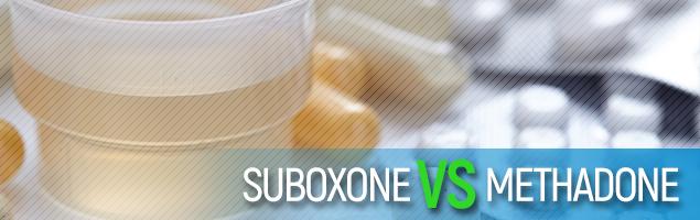 Suboxone vs Methadone