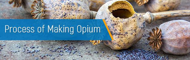 Process of Making Opium
