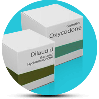 Dilaudid and Oxycodone