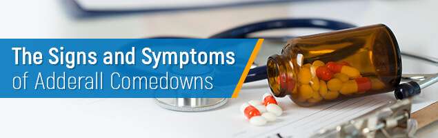 The Signs and Symptoms of Adderall Comedowns