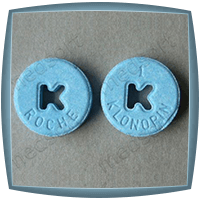 Klonopin Colors: Blue, Yellow, White, Green, Orange
