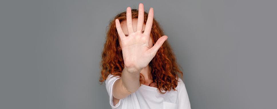 Woman refusing