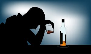 Alcoholism or alcohol use disorder