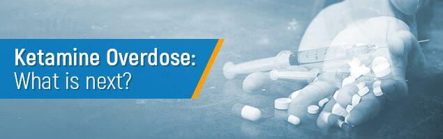 Ketamine overdose concept
