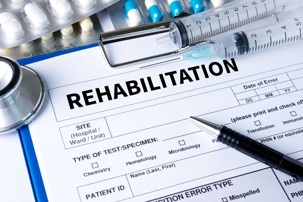 Rehabilitation document in the center for addictions