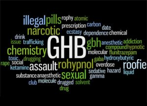 GHB - commonly used as a sedative in date-rape.