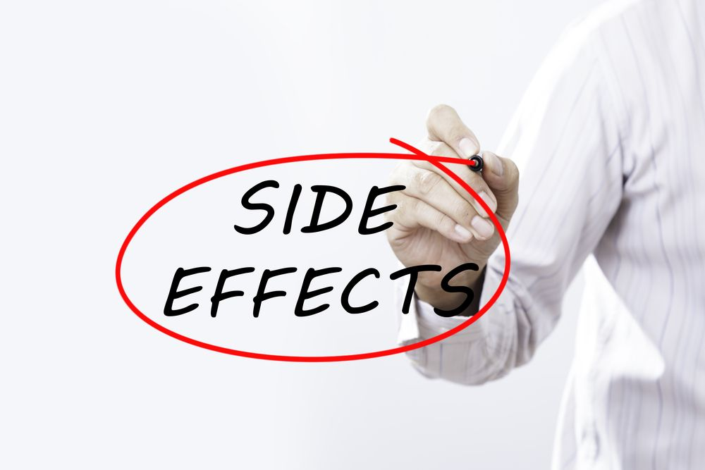 Side effects medical concept