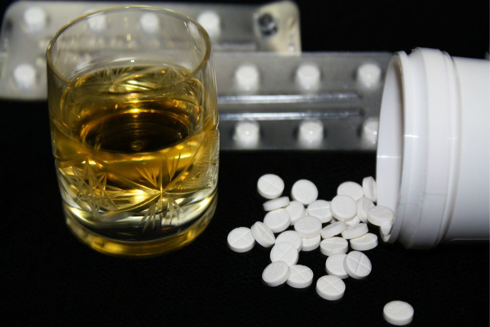People too often mix diazepam and alcohol.