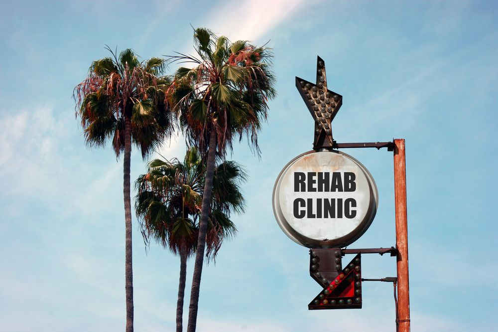 Rehab clinic concept image.