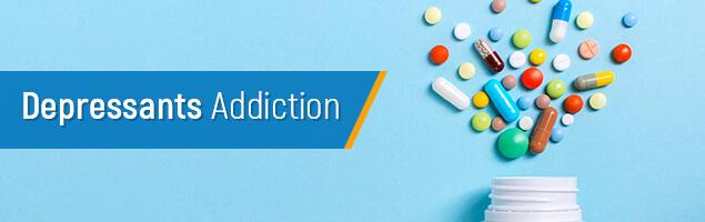 Depressant Drug adiction cover image