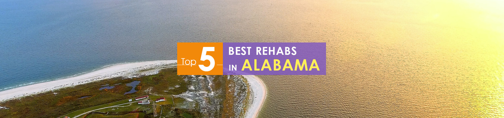 Fort Morgan view and caption of top 5 rehabs in Alabama