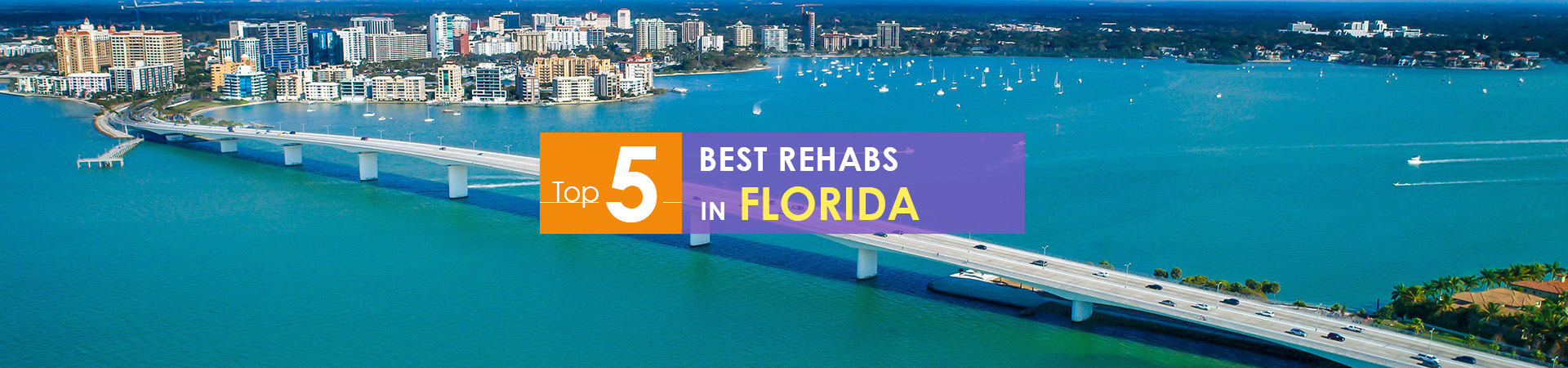 Florida beach view and top 5 rehabs caption