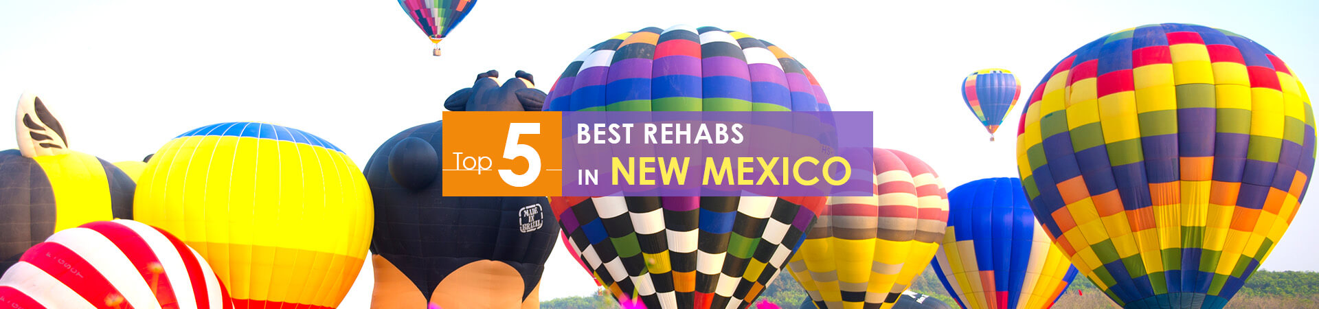 balloons festival view and top 5 rehabs in new mexico caption