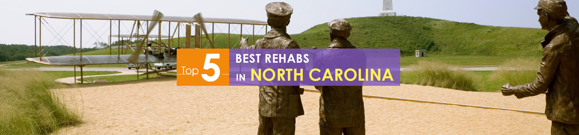 aviation memorial in NC and top 5 rehabs caption
