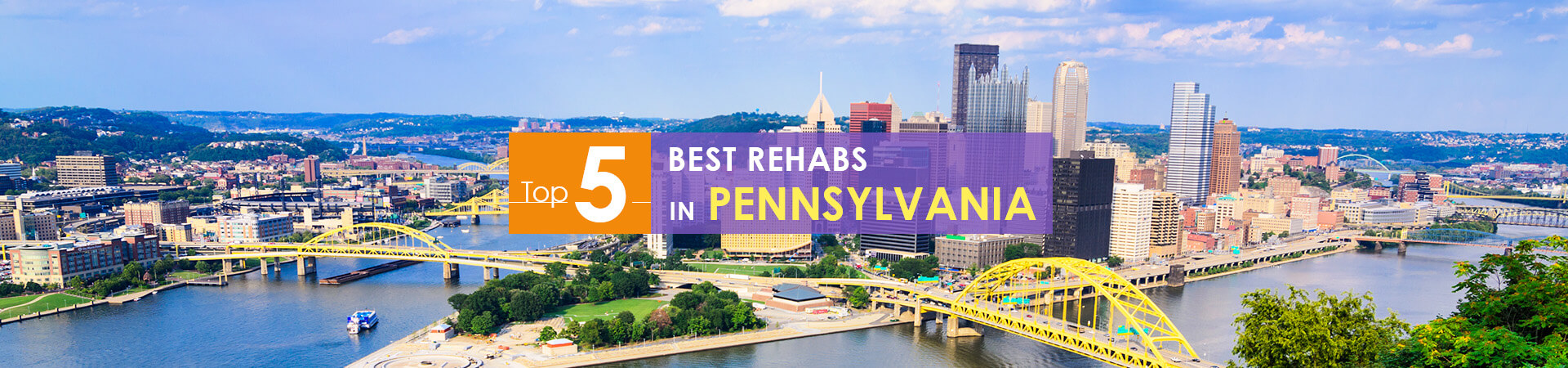 Pennsylvania view and top 5 rehabs caption
