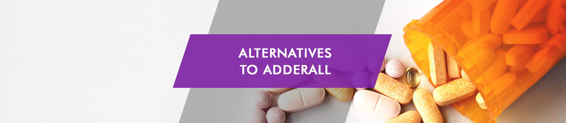 Alternatives to Adderall different pills