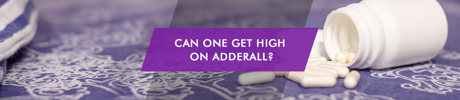 Can One Get High on Adderall pills on carpet