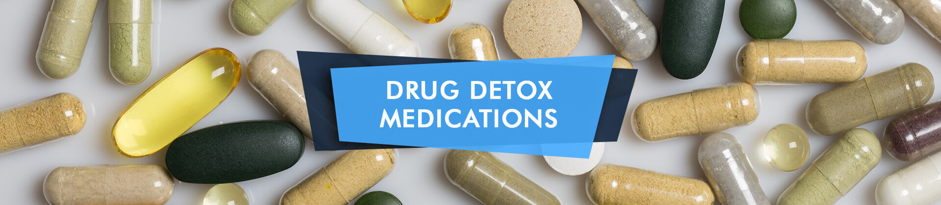 Pills for drug detox