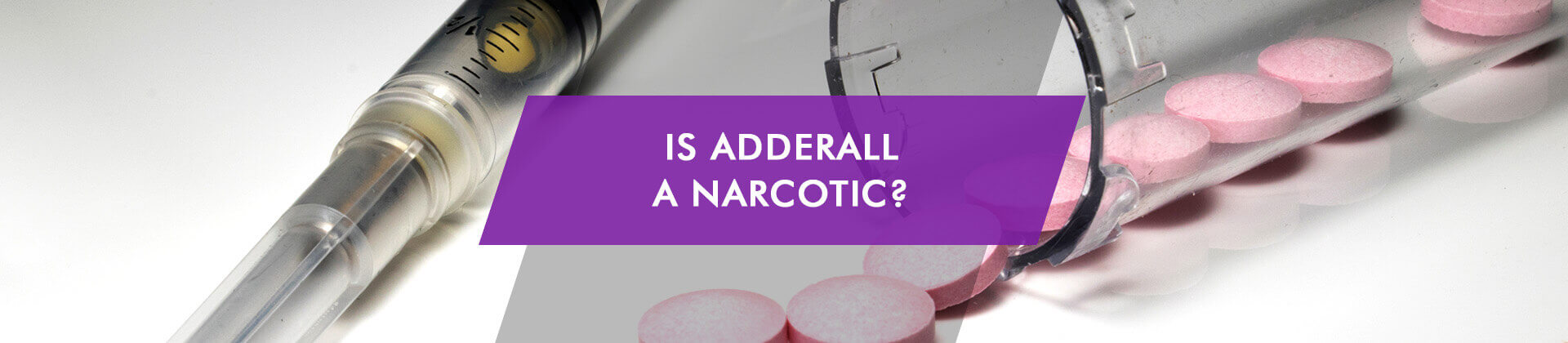 is Adderall a narcotic - drug classification