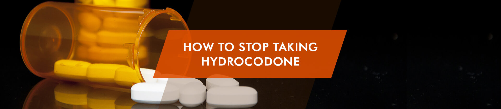how to stop taking hydrocodone