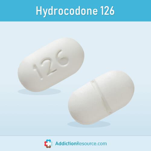 Hydrocodone 126 pill