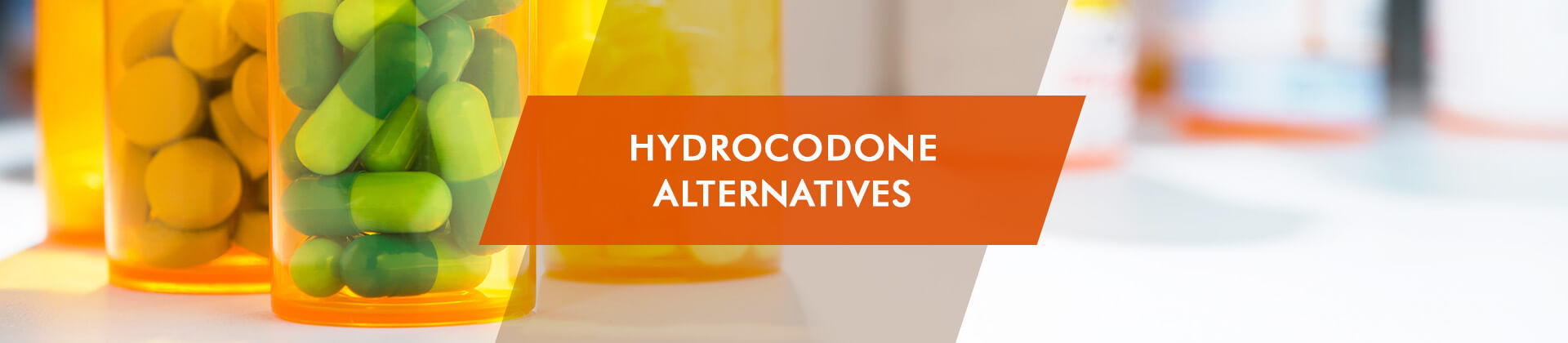 alternatives to hydrocodone