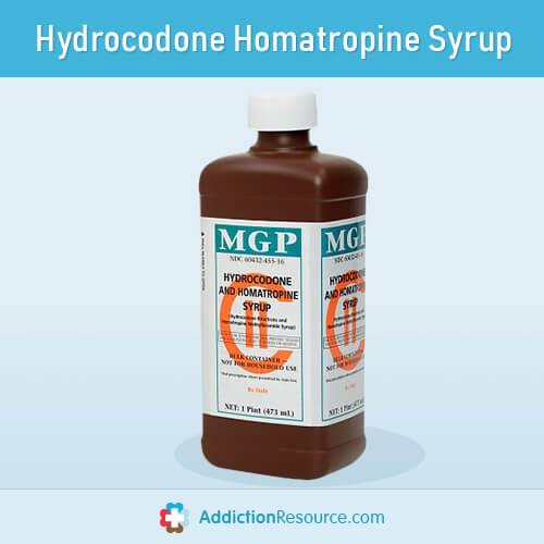Hydrocodone Homatropine Syrup