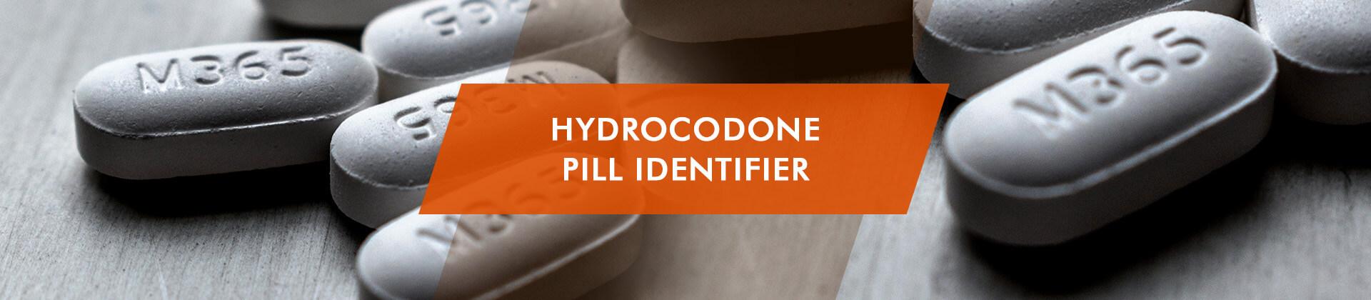 hydrocodone pill identification