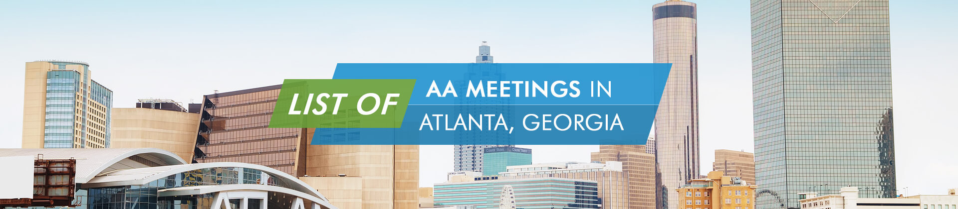 AA Meetings Atlanta Georgia