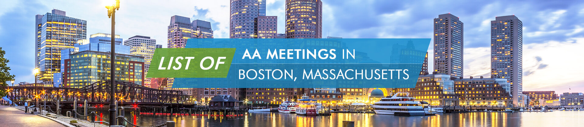 AA Meetings Boston Massachusetts