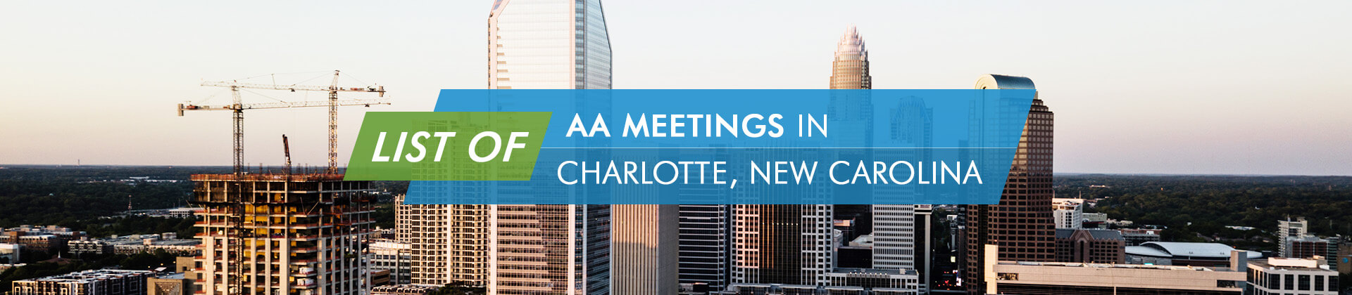 AA Meetings Charlotte New Carolina