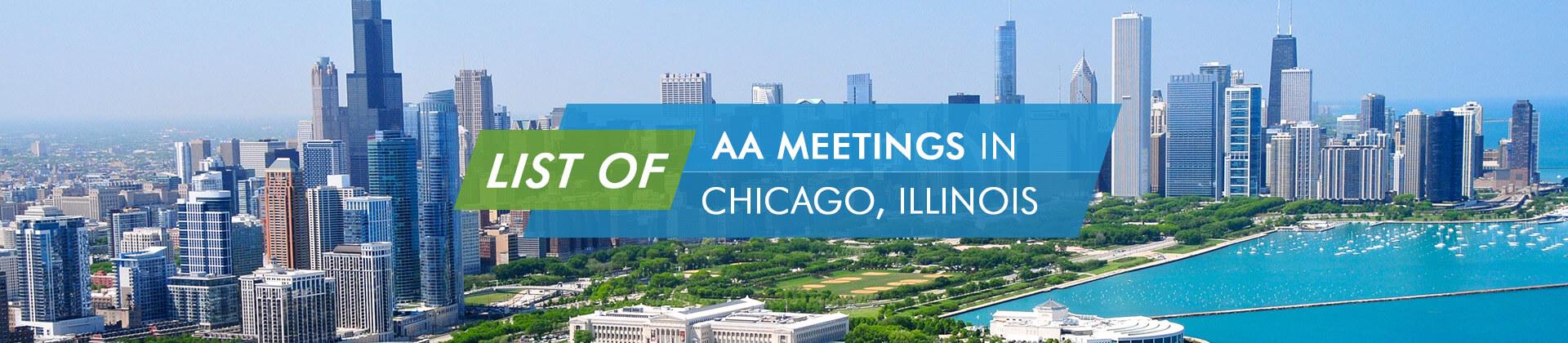 AA Meetings Chicago, Illinois
