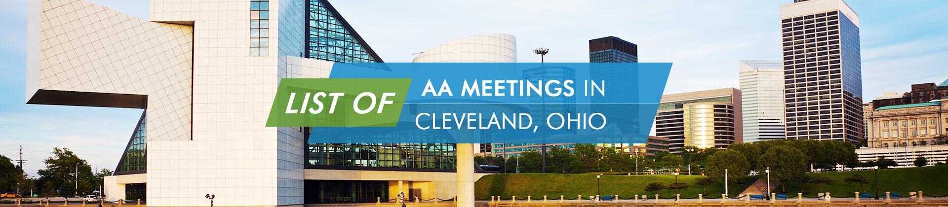 AA Meetings Cleveland Ohio