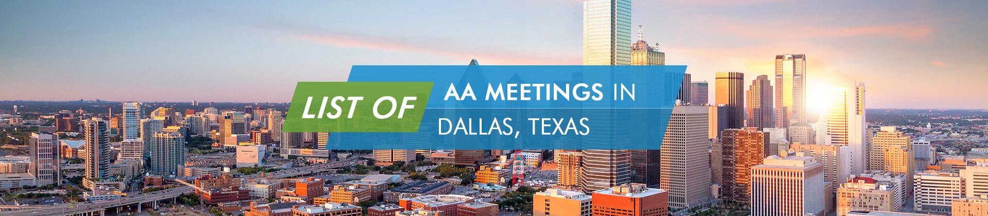 AA Meetings Dallas, Texas