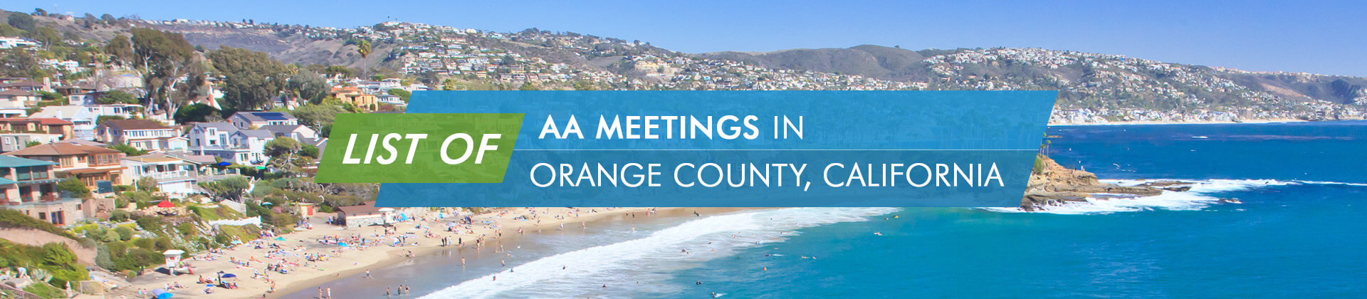 AA Meetings Orange County California