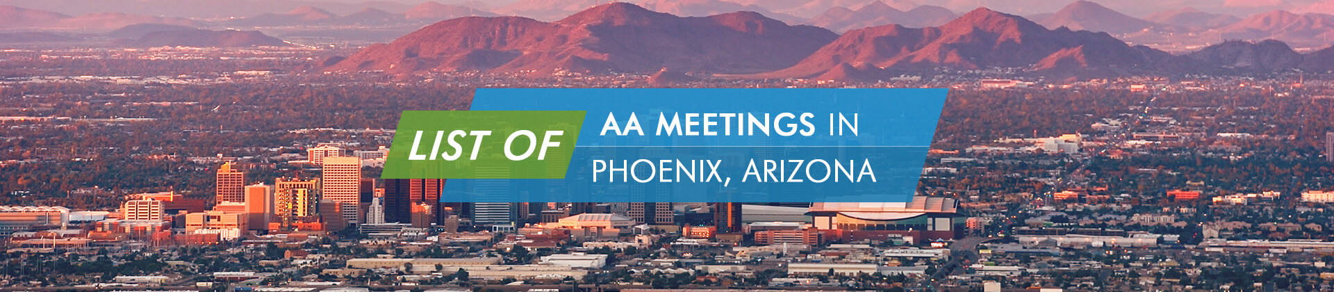 AA Meetings Phoenix Arizona