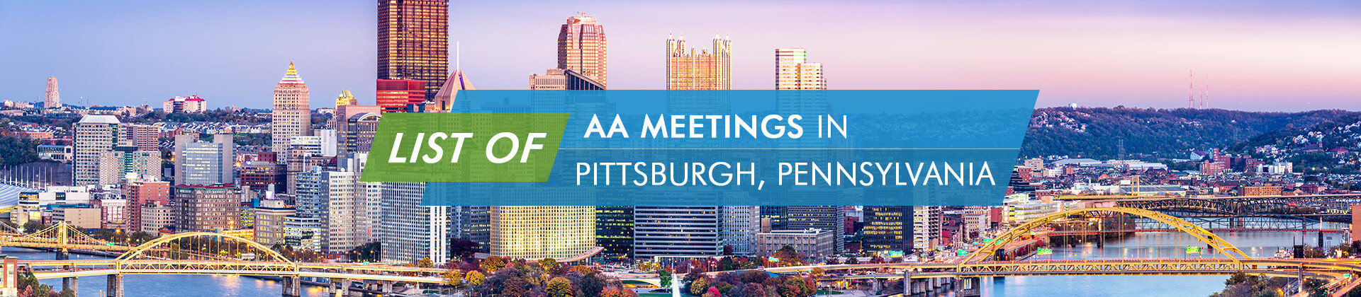 AA Meetings Pittsburgh Pennsylvania