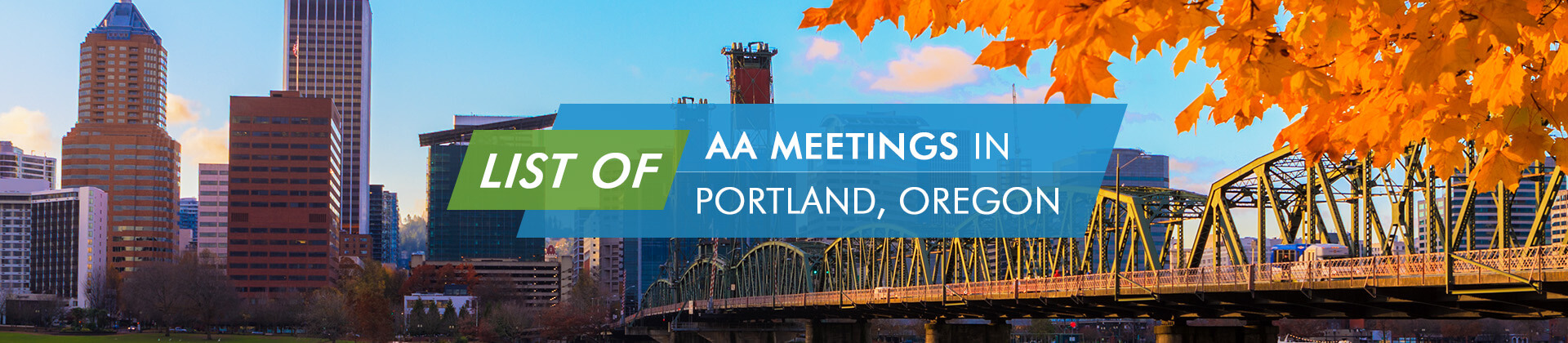 AA Meetings Portland Oregon