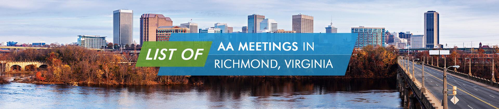 AA Meetings Richmond Virginia