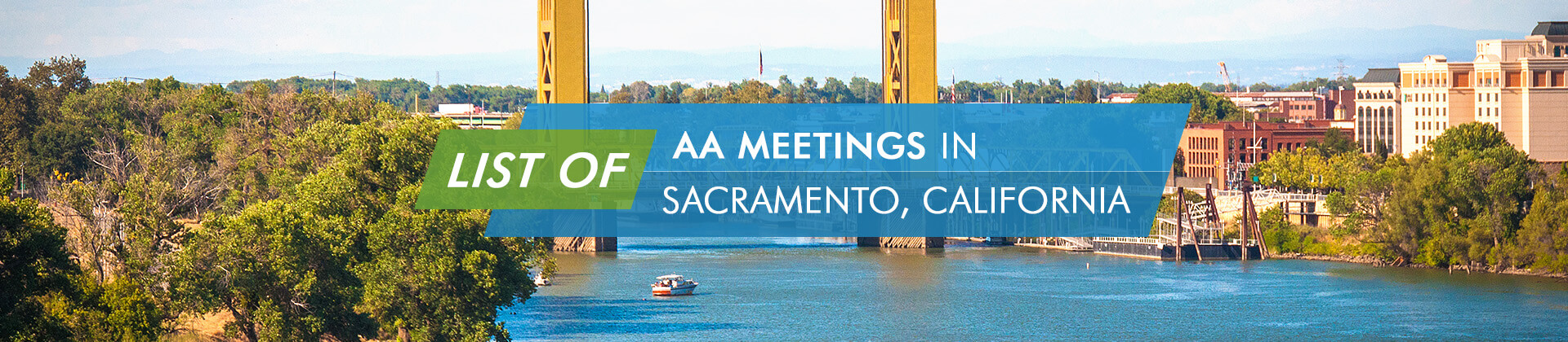 List Of AA Meetings Sacramento California