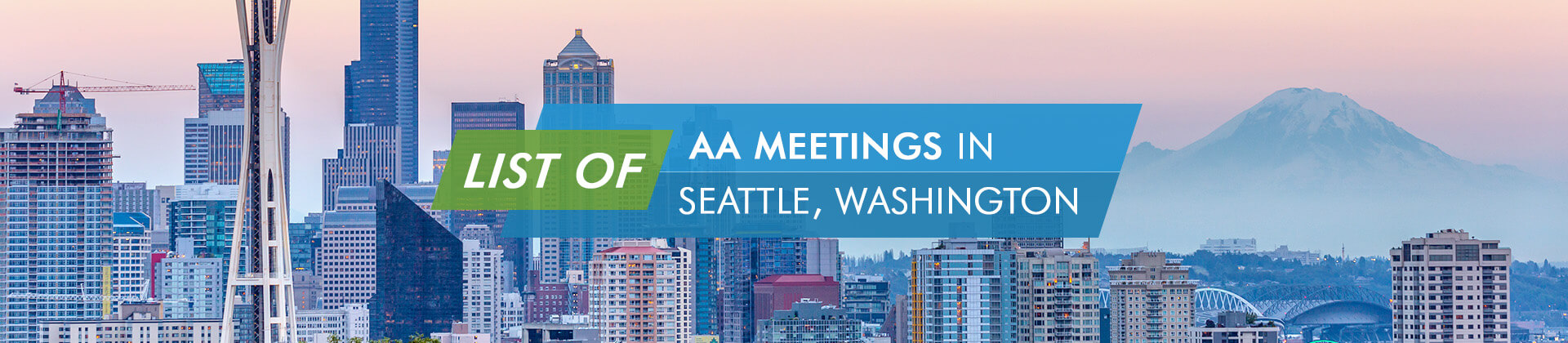 AA Meetings Seattle Washington