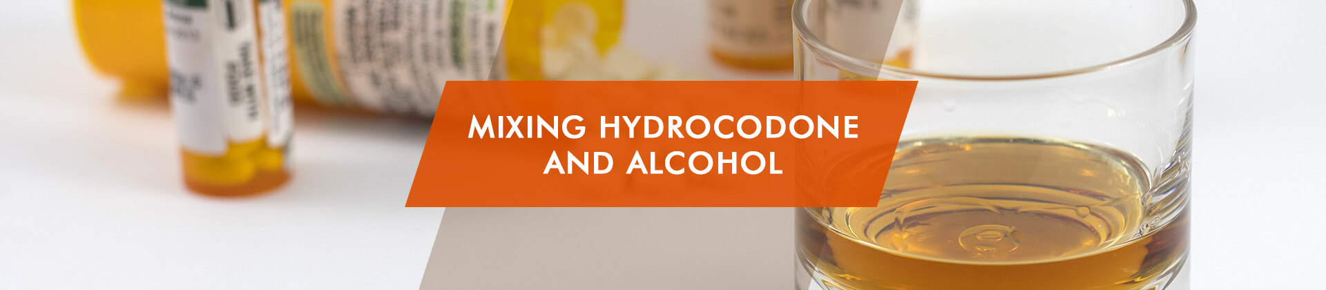 Hydrocoone and alcohol mixing
