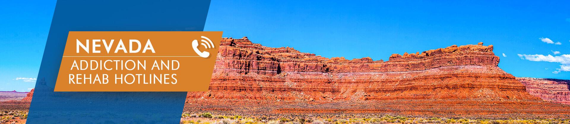 Nevada addiction and rehab hotlines
