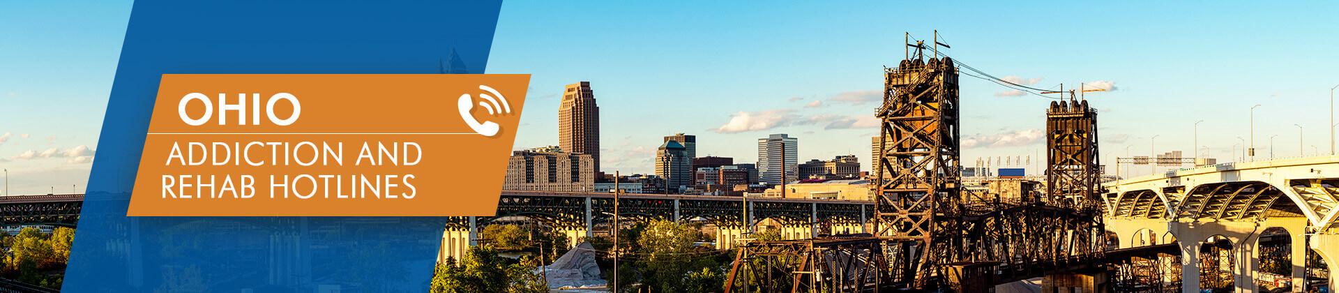 Ohio addiction and rehab hotlines